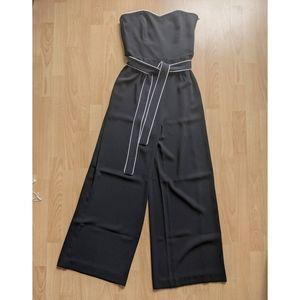 H&M Strapless Black Jumpsuit NWOT Never Worn